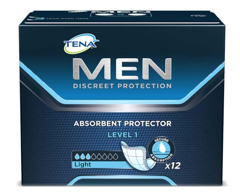 TENA MEN LEVEL 1 PROTECTION 12 PEZZI
