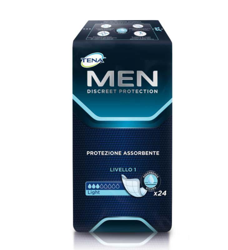 TENA MEN LEVEL 1 PROTECTION 24 PEZZI
