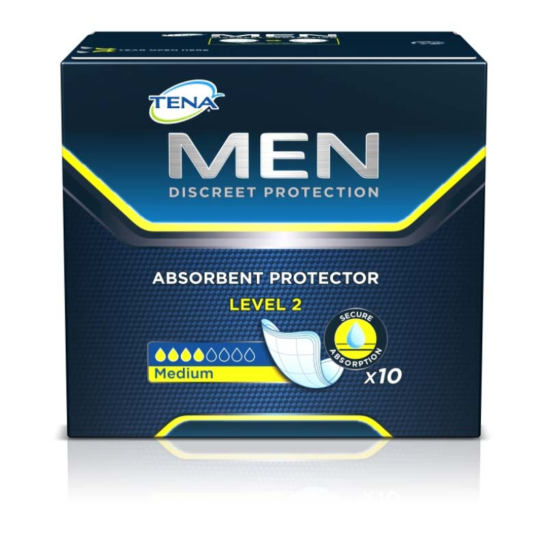 TENA® MEN LEVEL 2 PROTECTION 10 PEZZI