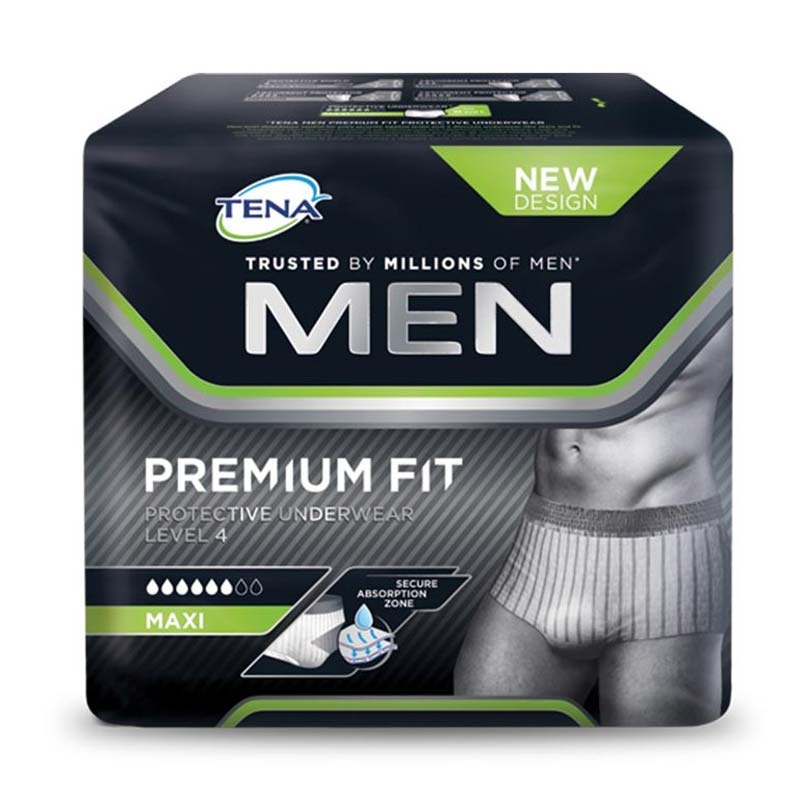 TENA MEN LEVEL 4 PREMIUM FIT TAGLIA L 10 PEZZI