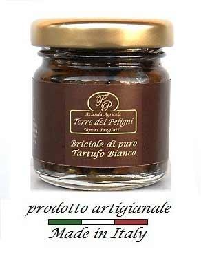 TERRE DEI PELIGNI - BRICIOLE DI PURO TARTUFO BIANCO - 40 G