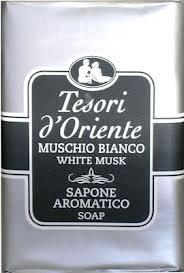 TESORI D'ORIENTE SAPONE MUSCHIO BIANCO - 150 GR