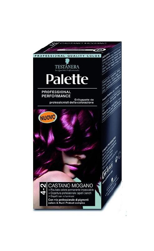TESTANERA PALETTE COLORAZIONE CASTANO MOGANO 4-2 - 115 ML