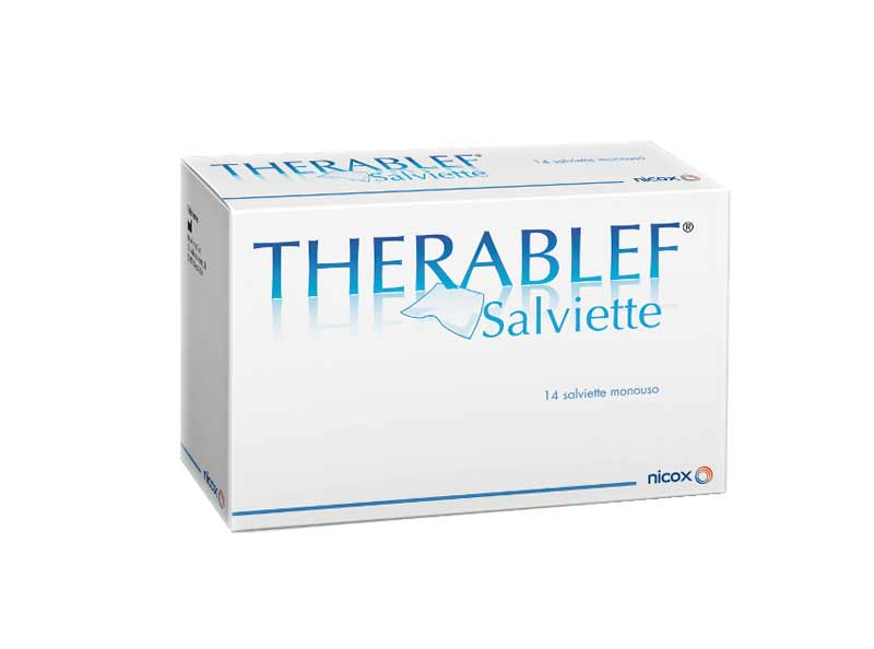 THERABLEF SALVIETTE OCULARI - 14 PEZZI