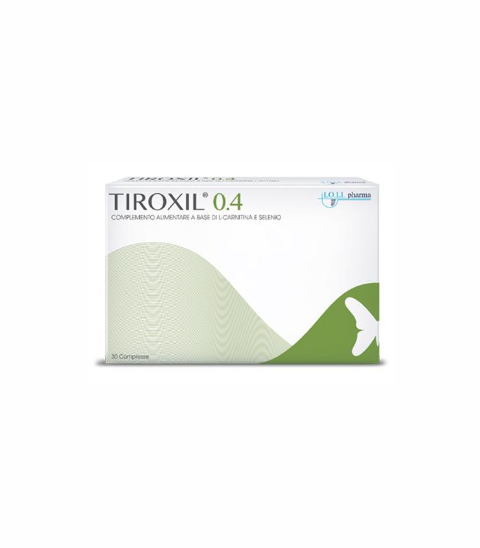 TIROXIL 0,4 30 COMPRESSE