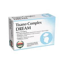 TISANO COMPLEX DREAM - INTEGRATORE ALIMENTARE - 30 COMPRESSE DA 1000 MG