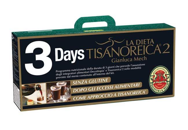 TISANOREICA 2 - 3DAYS START KIT 3 GIORNI