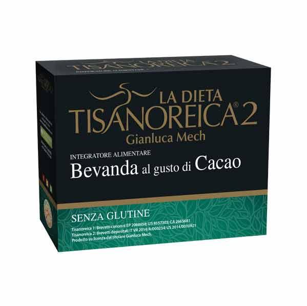 TISANOREICA 2 - BEVANDA AL GUSTO DI CACAO - 4 BUSTE DA 31,5 G