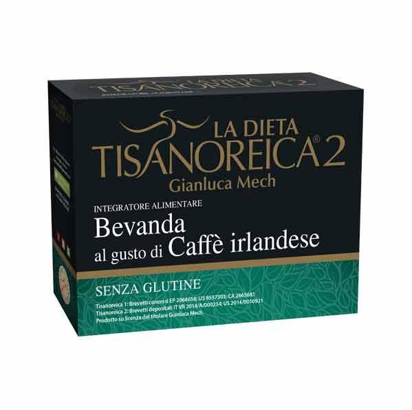 TISANOREICA 2 - BEVANDA AL GUSTO DI CAFFE' IRLANDESE - 4 BUSTE DA 28 G