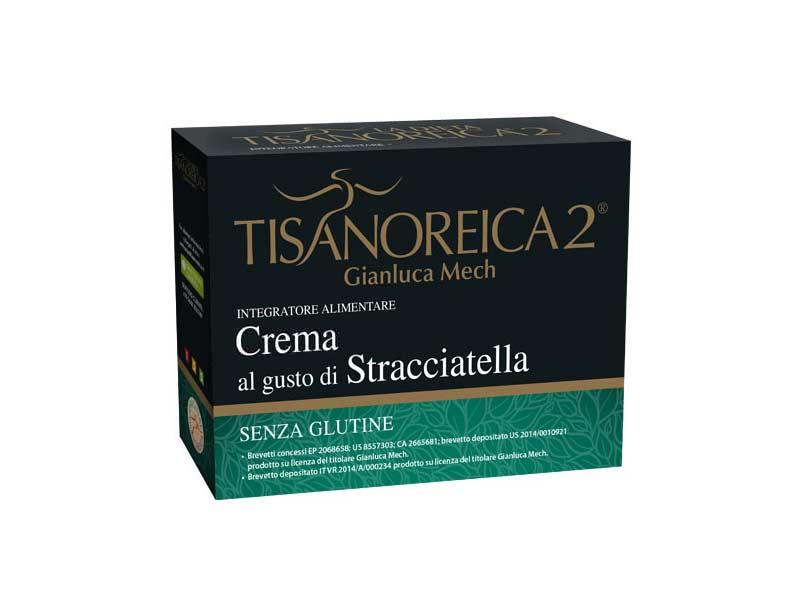 TISANOREICA 2 - CREMA AL GUSTO DI STRACCIATELLA - 4 BUSTE DA 28 G