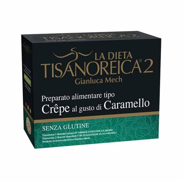 TISANOREICA 2 - CREPE AL GUSTO DI CARAMELLO - 4 BUSTE DA 30 G