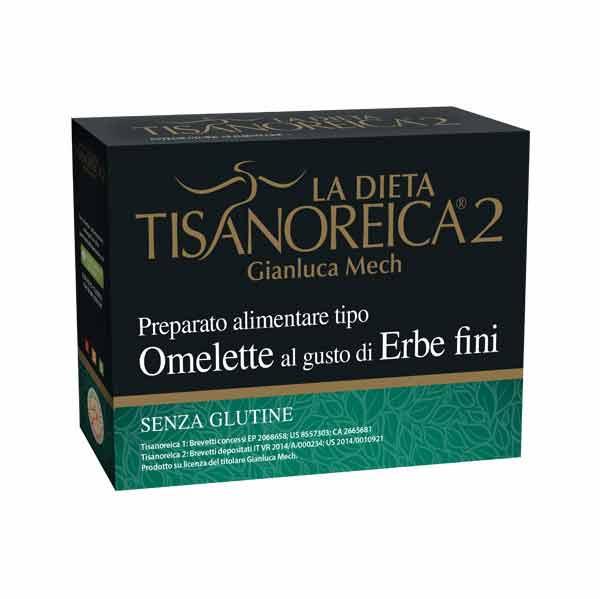 TISANOREICA 2 - OMELETTE AL GUSTO DI ERBE FINI - 4 BUSTE DA 27,5 G