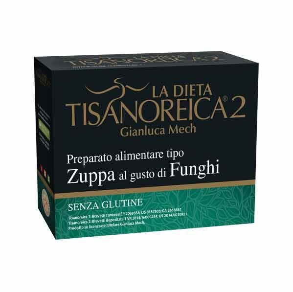 TISANOREICA 2 - ZUPPA AL GUSTO DI FUNGHI - 4 BUSTE DA 29 G