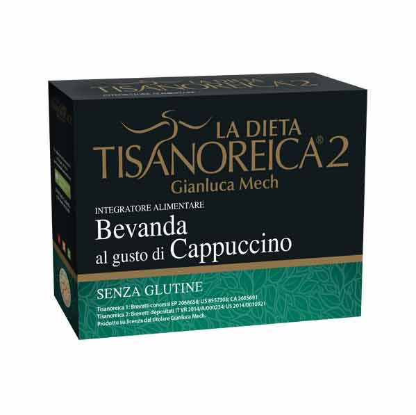 TISANOREICA 2 BEVANDA AL GUSTO DI CAPPUCCINO 4 BUSTE DA 28,5 G