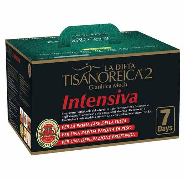 TISANOREICA 2 KIT INTENSIVA 7 GIORNI