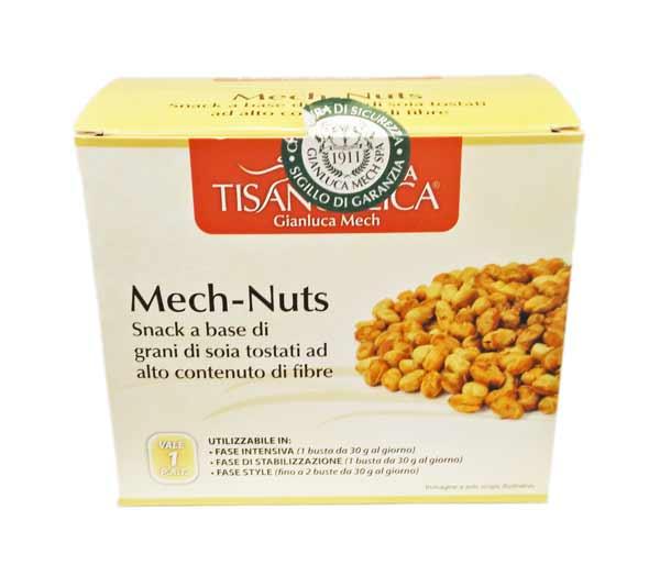 TISANOREICA MECH NUTS NOCCIOLINE DI SOIA TOSTATE 4 BUSTE DA 30 G
