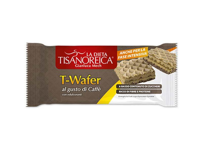 TISANOREICA T-WAFER AL GUSTO DI CAFFE 2 PEZZI DA 17,75 G