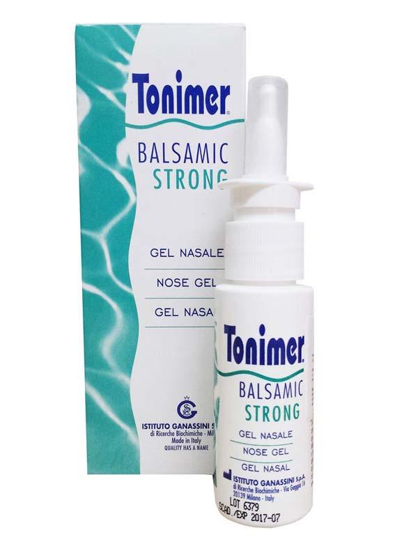 TONIMER BALSAMIC STRONG GEL NASALE 15 ML
