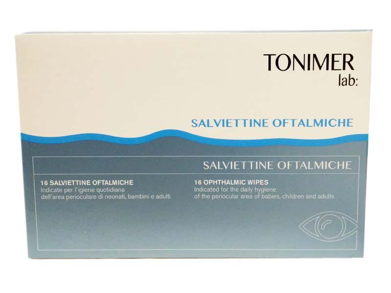 TONIMER LAB SALVIETTINE OFTALMICHE 16 SALVIETTINE
