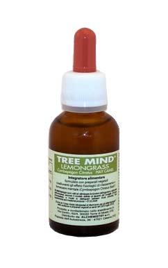 TREE MIND LEMONGRASS - INTEGRATORE ALIMENTARE PER IL RILASSAMENTO ED IL BENESSERE MENTALE - 30 ML
