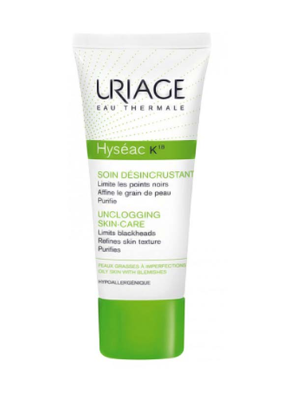 URIAGE HYSEAC K18 CREMA 40 ML