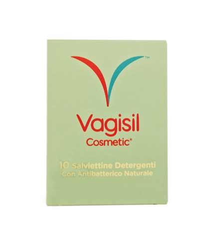 VAGISIL COSMETIC SALVIETTE DETERGENTI - 10 PEZZI