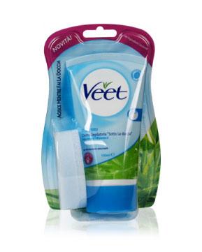 veet crema depilatoria sotto la doccia