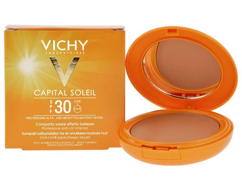 VICHY CAPITAL SOLEIL COMPATTO SOLARE SPF 30 SABLE 9 G
