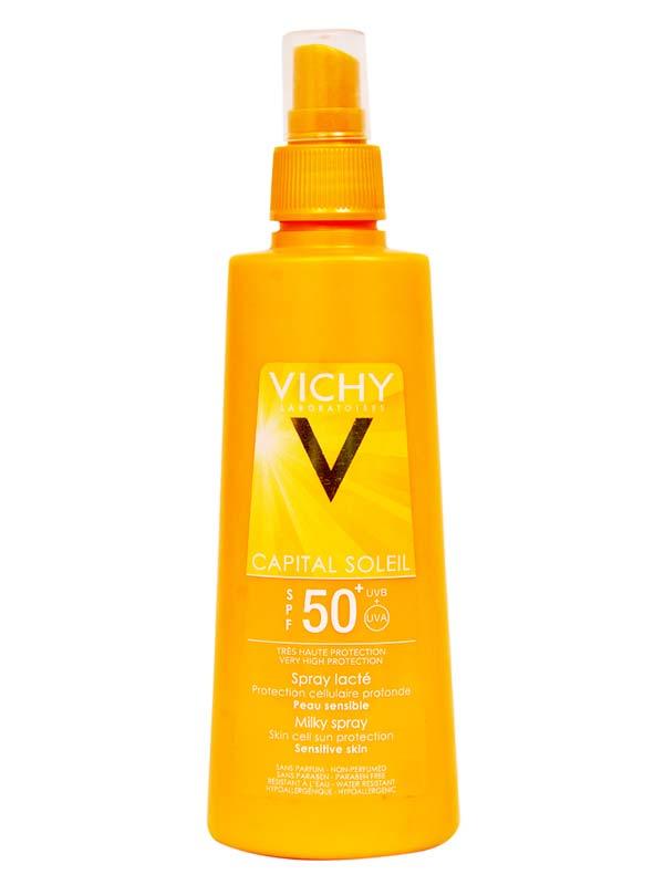 VICHY CAPITAL SOLEIL SPRAY LATTE SPF 50+ 200 ML