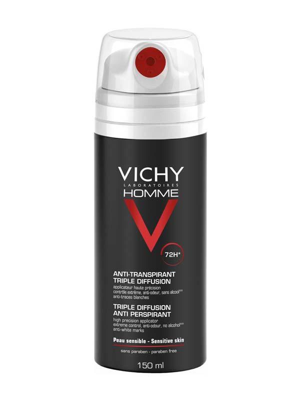 VICHY HOMME DEODORANTE SPRAY ANTI TRASPIRANTE 72h 150 ML