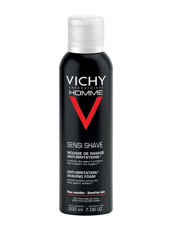VICHY HOMME MOUSSE DA BARBA ANTI IRRITAZIONE 200 ML