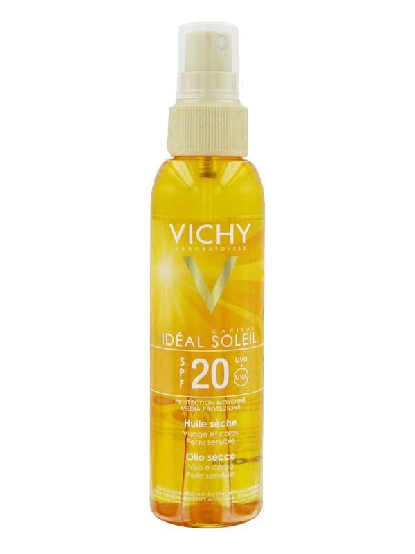 VICHY IDEAL SOLEIL OLIO SECCO SOLARE SPF 20 125 ML