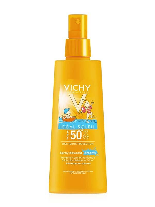 VICHY IDEAL SOLEIL SPRAY DELICATO BAMBINO SPF 50+ 200 ML