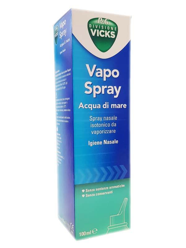 VICKS VAPO SPRAY ACQUA DI MARE SPRAY ISOTONICO 100 ML