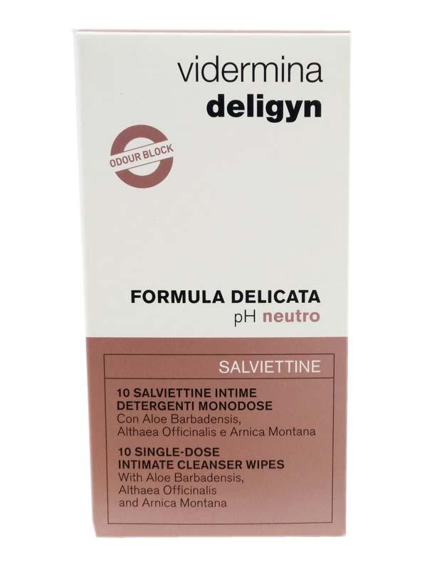 VIDERMINA DELIGYN FORMULA DELICATA 10 SALVIETTINE