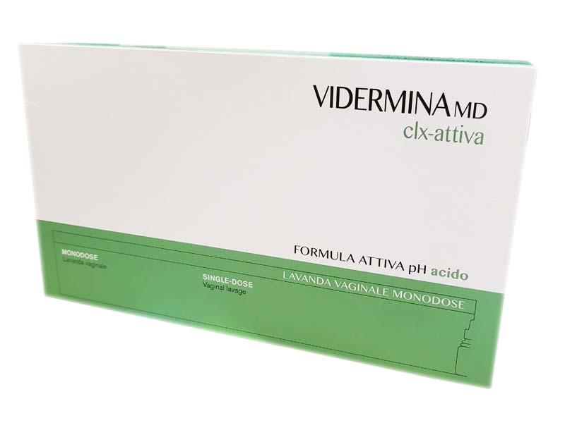 VIDERMINA MD CLX ATTIVA LAVANDA VAGINALE MONODOSE 5 FLACONI DA 140 ML