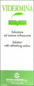 VIDERMINA SOLUZIONE AD AZIONE RINFRESCANTE - 500 ML