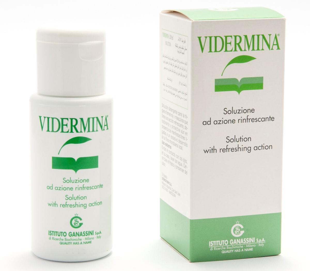 VIDERMINA® SOLUZIONE AD AZIONE RINFRESCANTE 200 ML