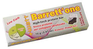 WATT BARRETT'ONE - BARRETTA AD ALTO TITOLO PROTEICO GUSTO CACAO CHOCOLATE - 70 G
