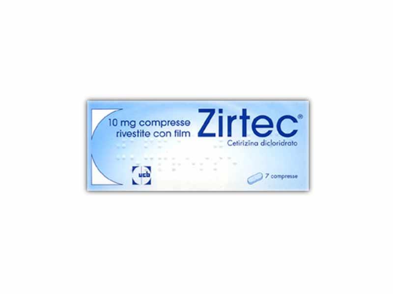 ZIRTEC 10 MG - 7 COMPRESSE RIVESTITE