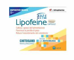 4321 SLIM LIPOFEINE - FAVORISCE LA PERDITA DI PESO - 60 CAPSULE
