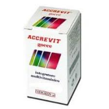 ACCREVIT GOCCE INTEGRATORE MULTIVITAMINICO MULTIMINERALE - 10 ML