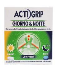 ACTIGRIP GIORNO E NOTTE 12 COMPRESSE GIORNO + 4 COMPRESSE NOTTE
