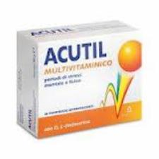 ACUTIL MULTIVITAMINICO INTEGRATORE ALIMENTARE - 20 COMPRESSE EFFERVESCENTI