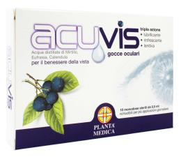 ACUVIS GOCCE OCULARI 10 FIALE MONODOSE STERILI DA 0,5 ML