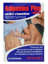 ADIPESINA PLUS NOTTE CON OB-X E SENSORILTRIM 30 COMPRESSE