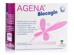 AGENA BLOCAGIN 5 BUSTINE DA 2 G + 5 FLACONI DA 8 ML
