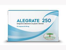 ALEGRATE 250 INTEGRATORE PER IL TONO DELL'UMORE - 30 COMPRESSE