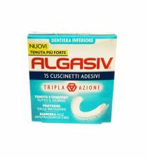 ALGASIV 15 Cuscinetti Adesivi DENTIERA INFERIORE