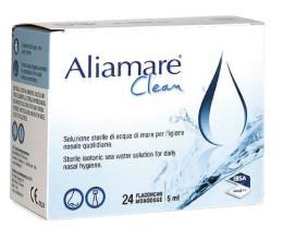 ALIAMARE CLEAN SOLUZIONE STERILE 24 FLACONCINI MONODOSE DA 5 ML